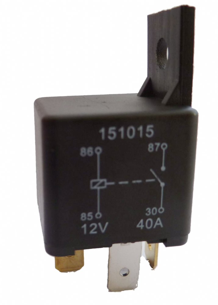 4 Pin Automotive Type 12volt 40 Amp Relay Alt  Ry15